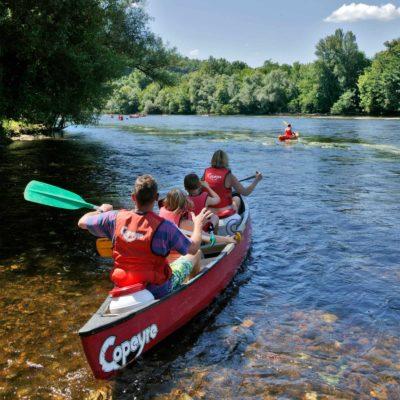 canoe dordogne camping malpas vacances