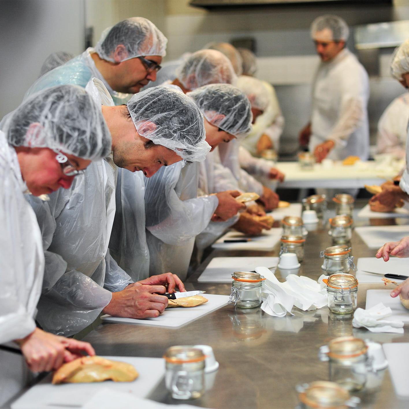 activité gastronommie foie gras camping malpas roubegeolle