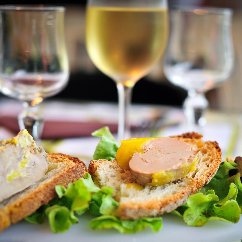 activité gastronomique foie gras auberge camping vacances