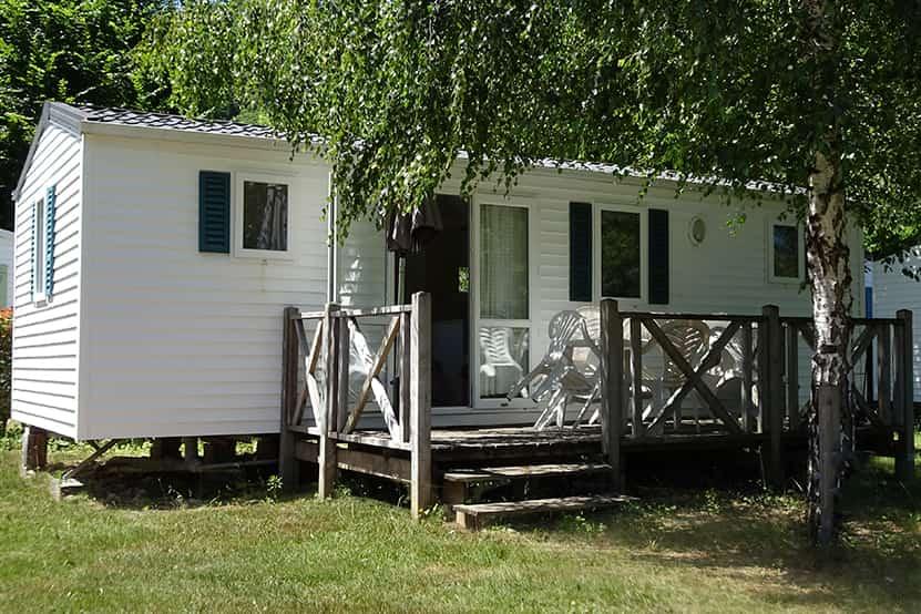 mobil home camping corrèze location echo malpas