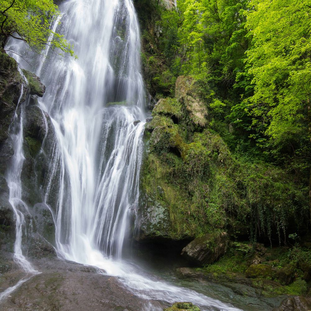 cascade autoire vacances camping malpas