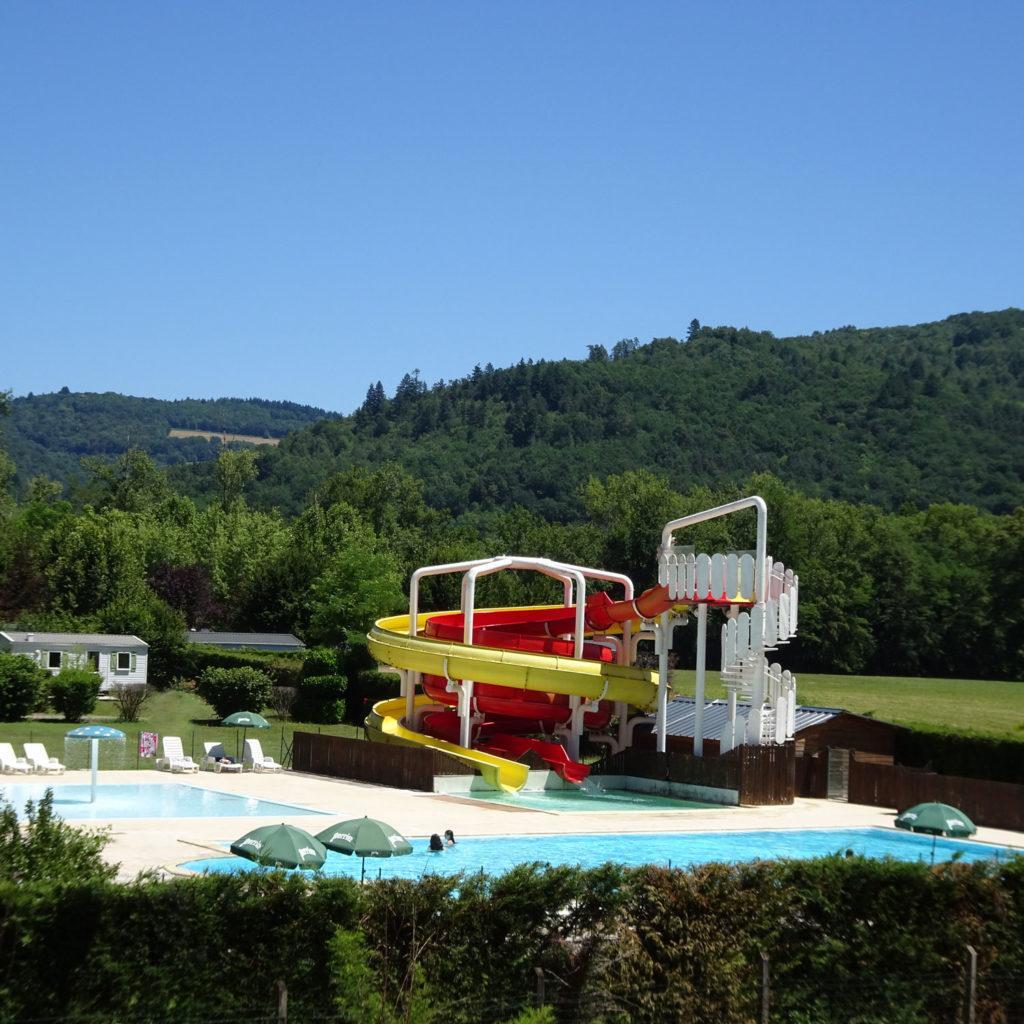 camping avec piscine Corrèze malpas
