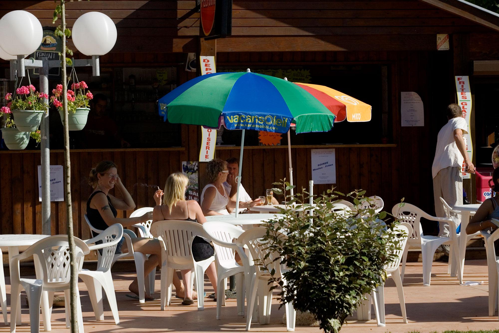 snack bar restaurant camping malpas