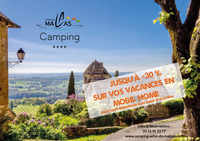 early booking offre promotion camping dordogne