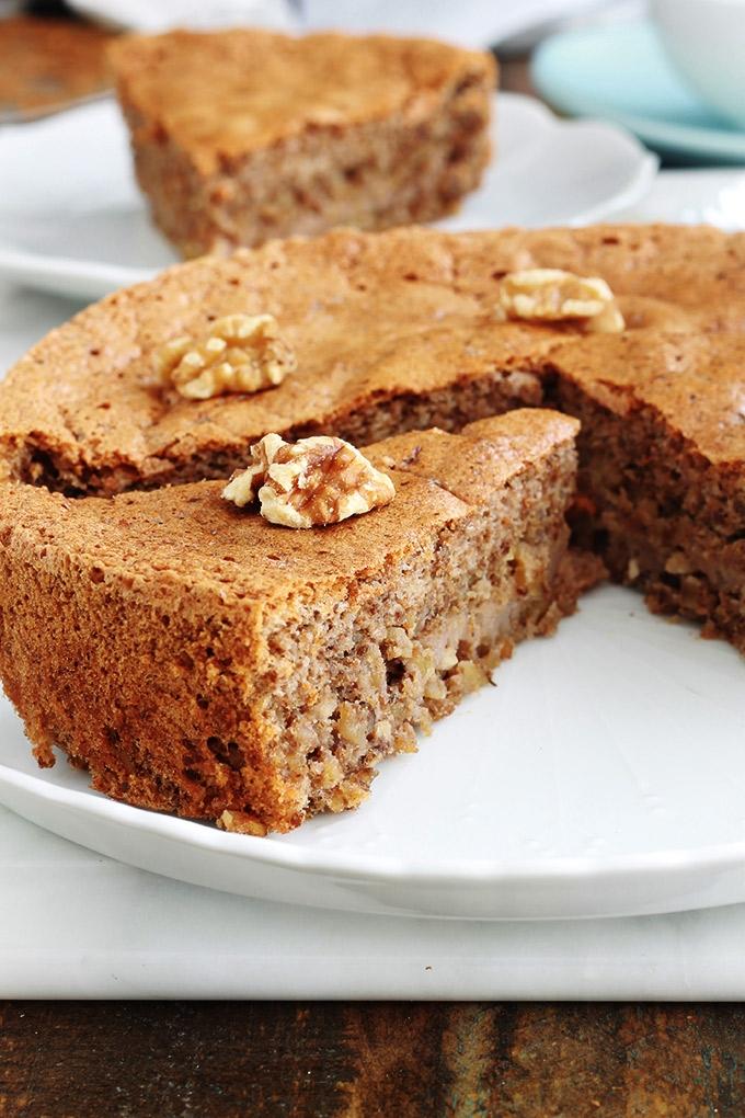 gateau aux noix spécialité de la Corrèze et sa recette